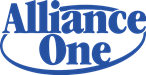 Alliance One Logo, a network of surcharge-free ATMs