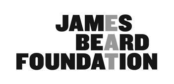 James Beard Foundation Logo spelling EAT