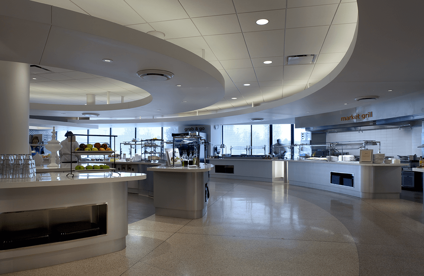 Corporate and Business Commercial Kitchen and Cafeteria Design and Equipment
