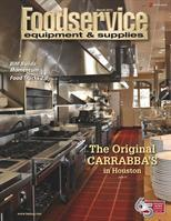 C&T Design's Houston Branch's Carrabba's Project is on the Cover of this Month's FE&S Magazine