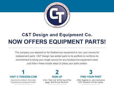 C&T Design Parts Flyer (Image)