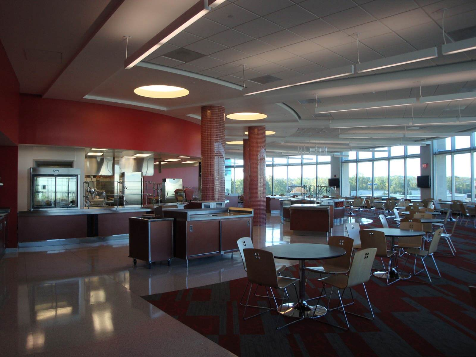 Corporate Cafeteria Projects Commercial Kitchens C T