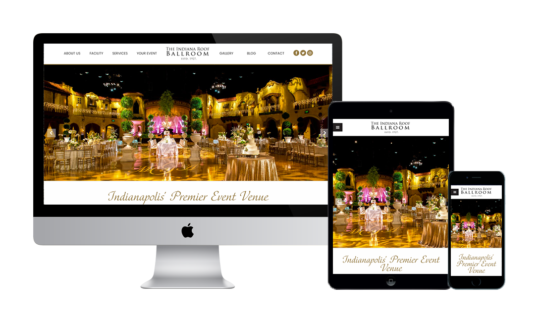 Indianapolis Premier Event Venue Launches Redesigned Website