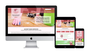Responsive Web Design & Social Marketing Elevate Indianapolis Cleaning Business