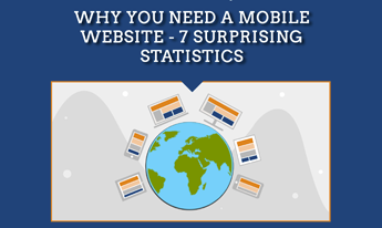 Why You Need a Mobile Website - 7 Surprising Statistics (Infographic)