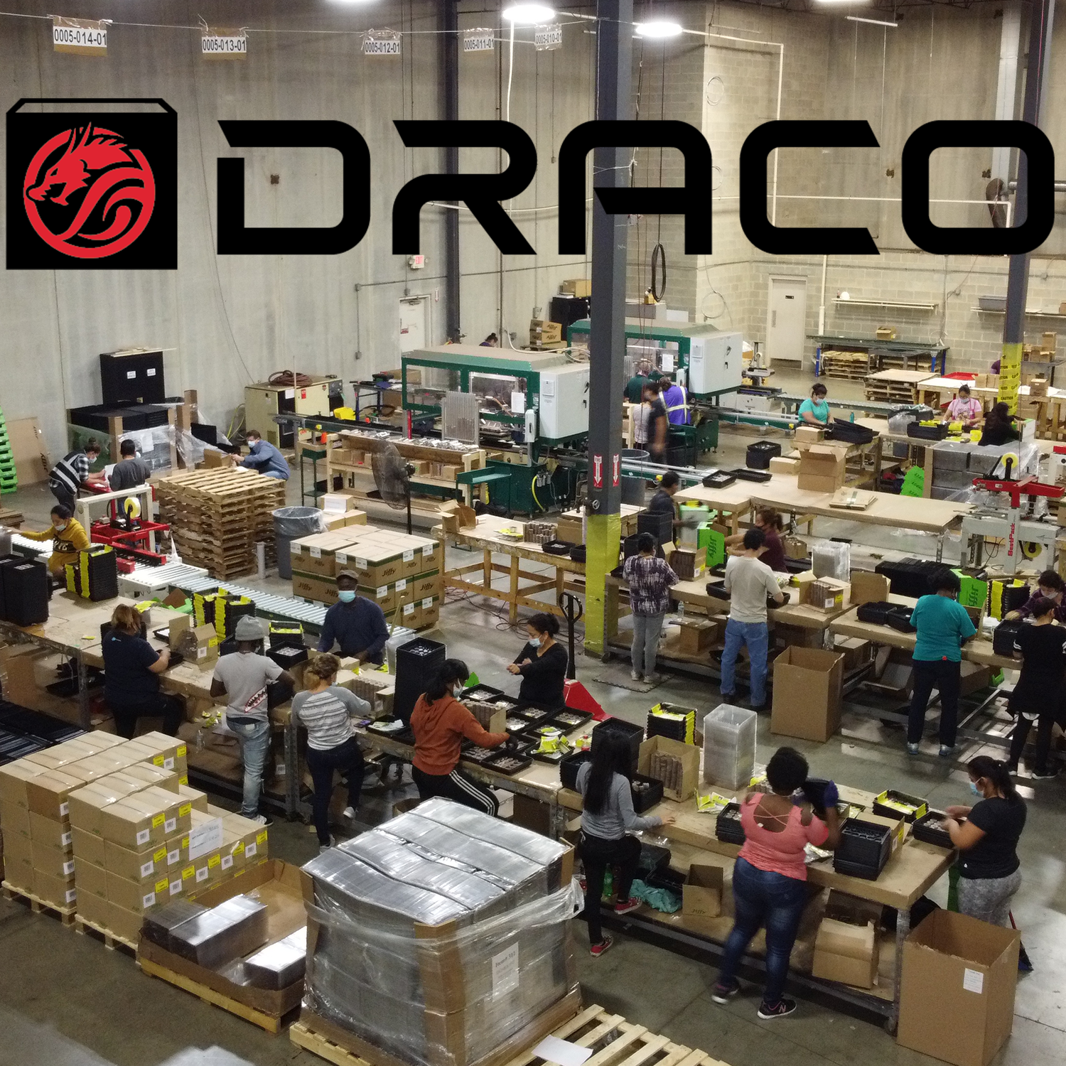 Draco Pack Line and LOGO