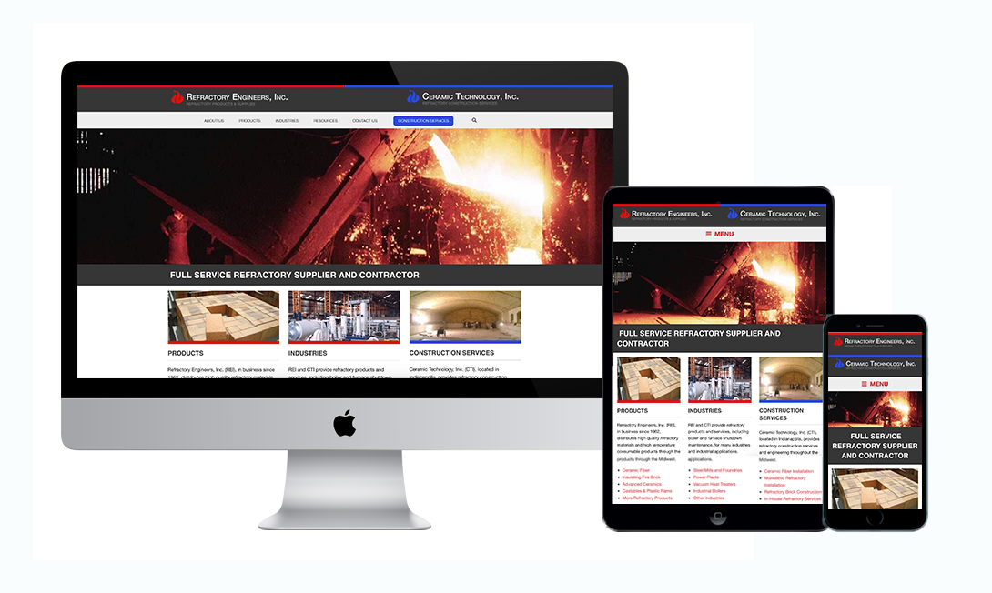 Refractory Engineers Website Project by Marketpath