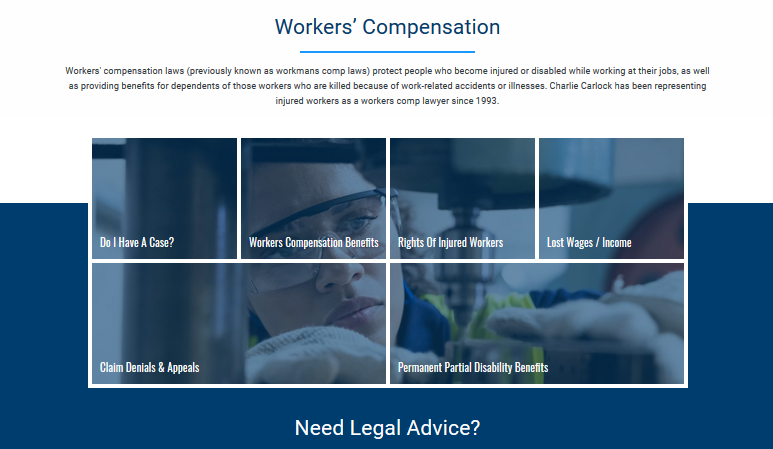 Indianapolis Workers Compensation Attorney Launches New Website