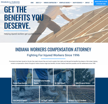 Indianapolis Lawyer Websites