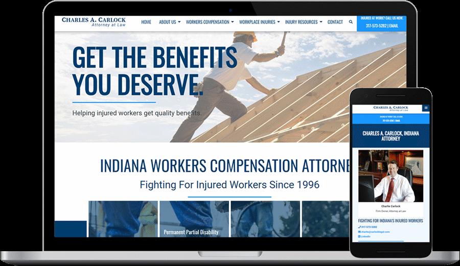 Lawyer Websites - Web Design, Development & SEO in Indianapolis