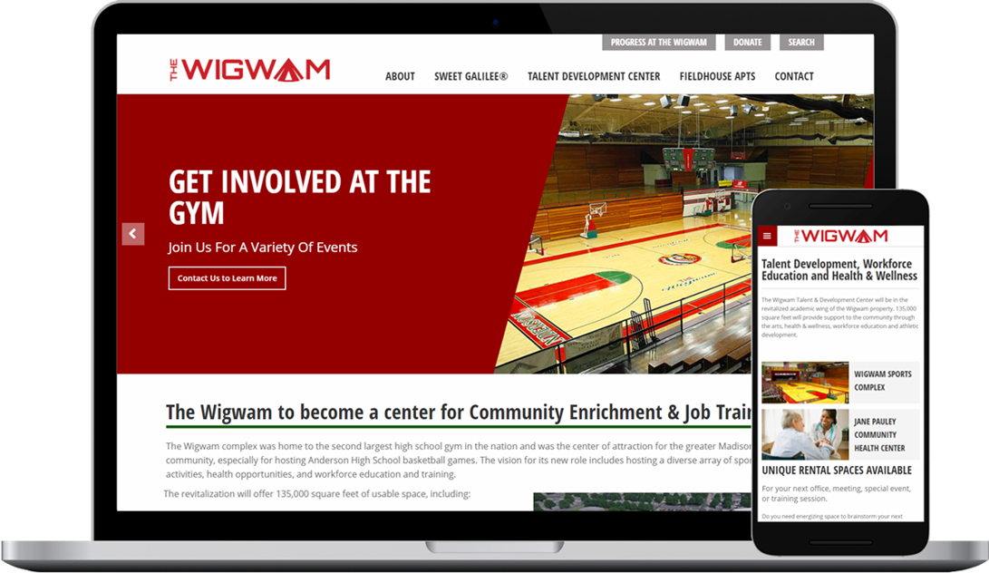 The Wigwam Complex - a opportunity zone revitalization project in Anderson, Indiana