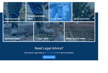 Indiana Lawyer Website
