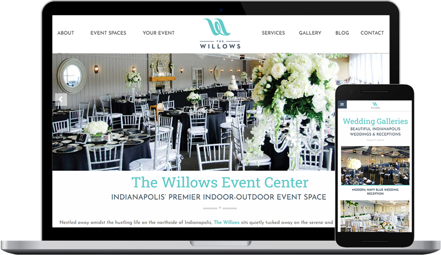 Event Center Website Design and Development (Indianapolis)