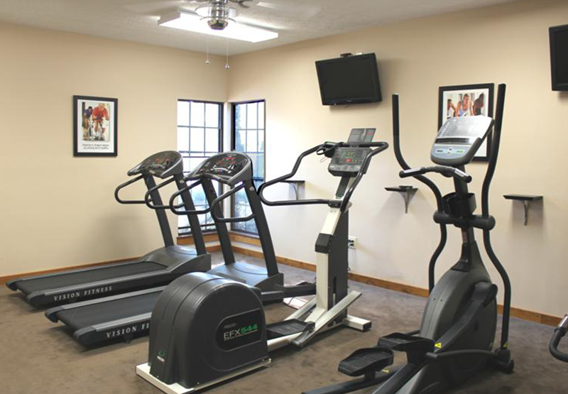 Fitness Center   Willow Glen East Apartments   Indianapolis, Indiana