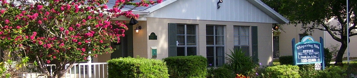 Leasing Office | Whispering Hills Apartments | Dunedin, Florida