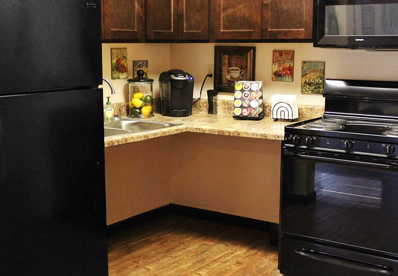 Coffee Bar | Stonecrest Apartments | Fortville, Indiana