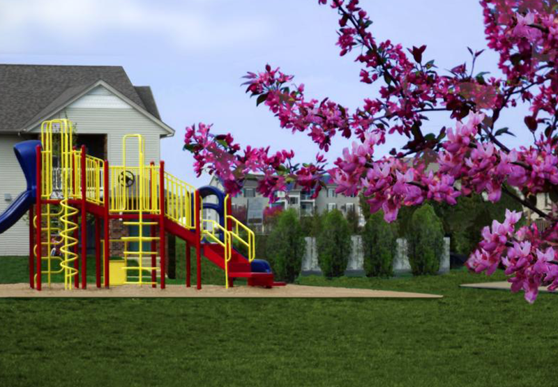 Playground, Cimarron Place Apartments | Shelbyville Indiana