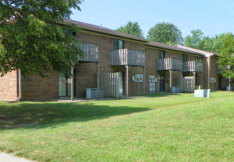 Exterior, Porches, Austin Village Apartments | Austin, Indiana