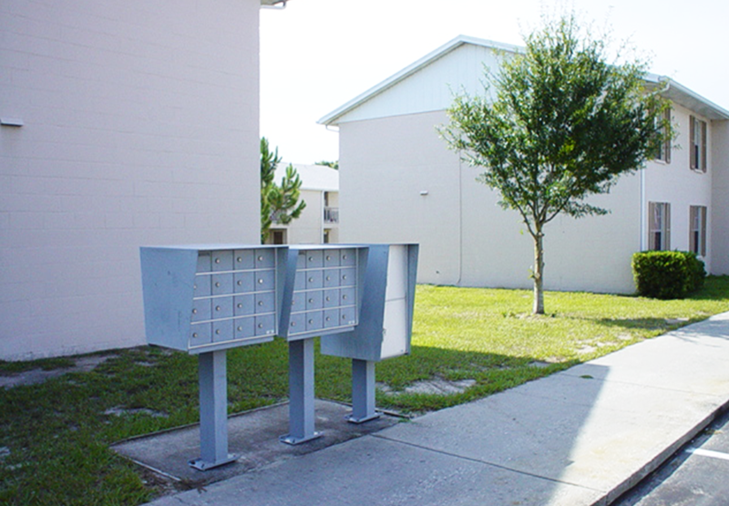 Mailboxes | Whispering Hills Apartments | Dunedin, Florida