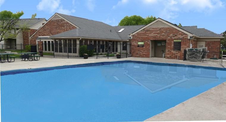 258 pool club house