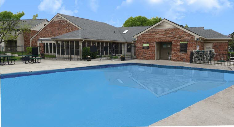 258 pool club house