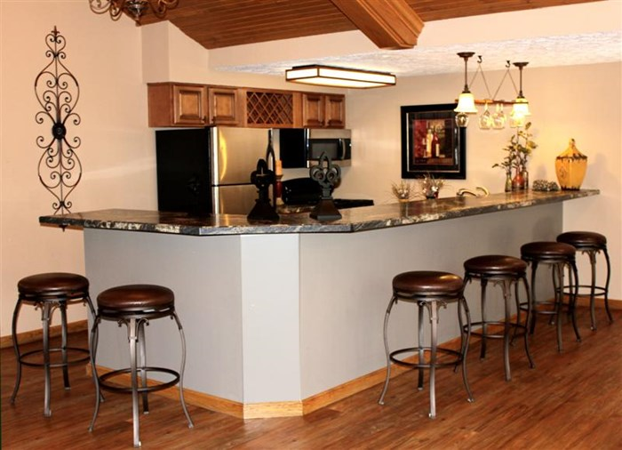 Clubhouse Kitchen | Eastlake Woods Apartments | Columbus, Indiana