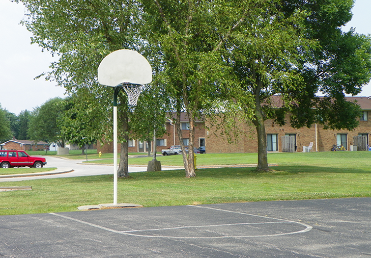 Basketball Court | Country Wood Apartments | Versailles, Indiana