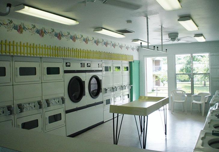 Laundry Center | Whispering Hills Apartments | Dunedin, Florida