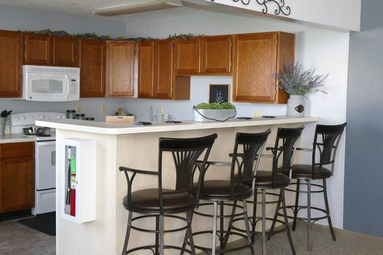 087 Club house kitchen
