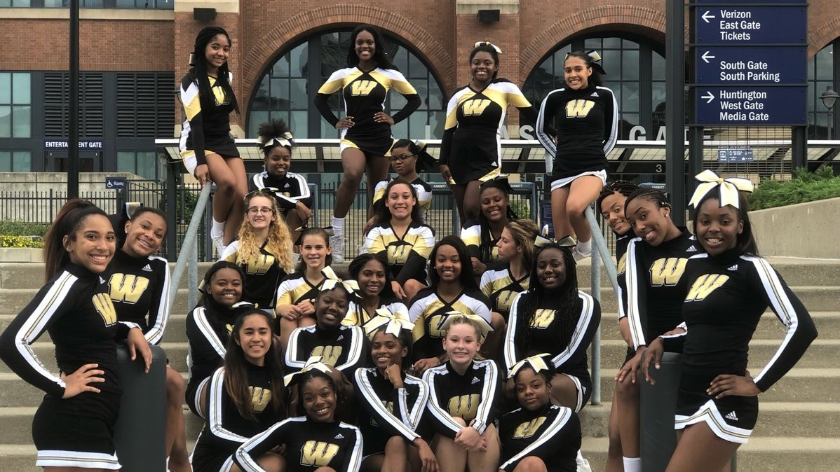 Cheerleaders Head to Lucas Stadium to Get Ready for the 2018 Football Season