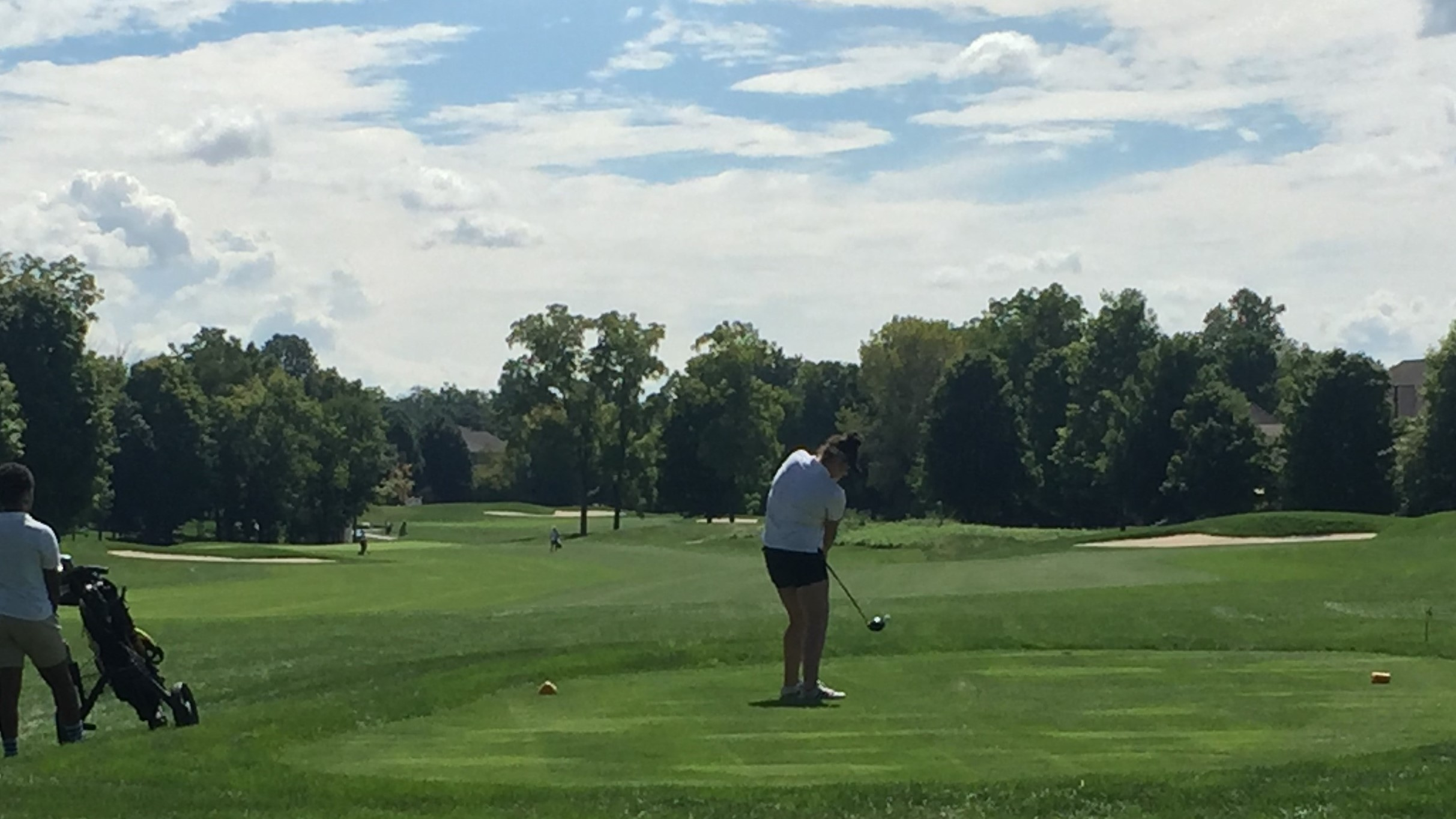 2018 Girls Golf Sectional Finishes Season