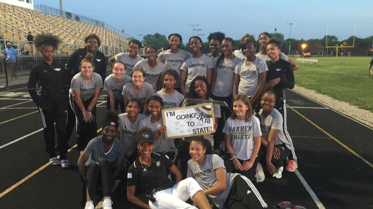 CONGRATULATIONS TO YOUR 2018 IHSAA GIRLS TRACK REGIONAL CHAMPIONS!!