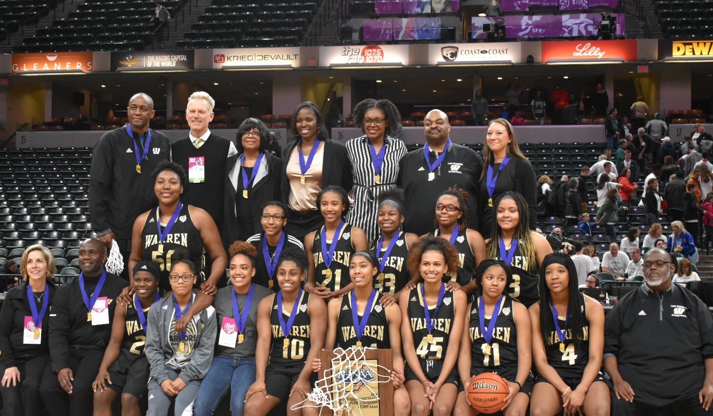 Congratulations to the 2018 IHSAA 4A Girls State Basketball Champions!