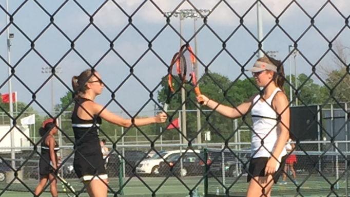 Ashley Jarels and Morgan Oconitrillo win to move on in Doubles