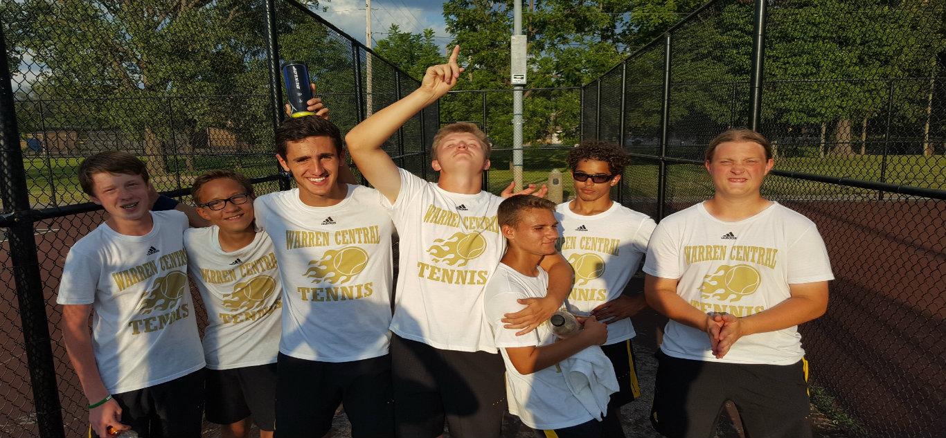 Boys Tennis Wins First Match