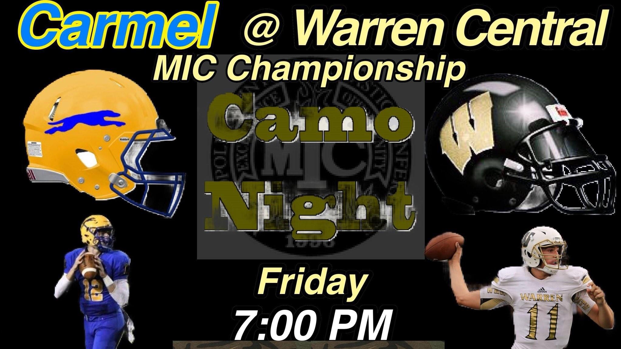 Carmel vs Warren...enough said.