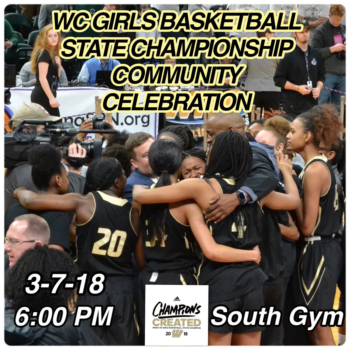 2018 Girls Basketball Community Celebration