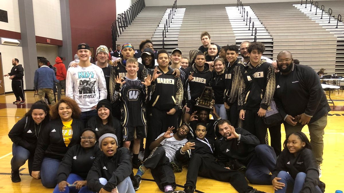 Warren Central Wrestlers win their 10th MIC Wrestling Tourney Championship!!