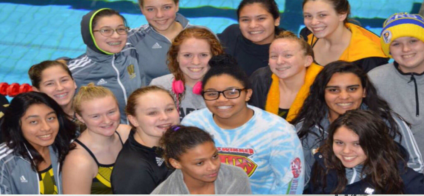 GIRLS SWIM PROGRAM IS ON THE RISE.