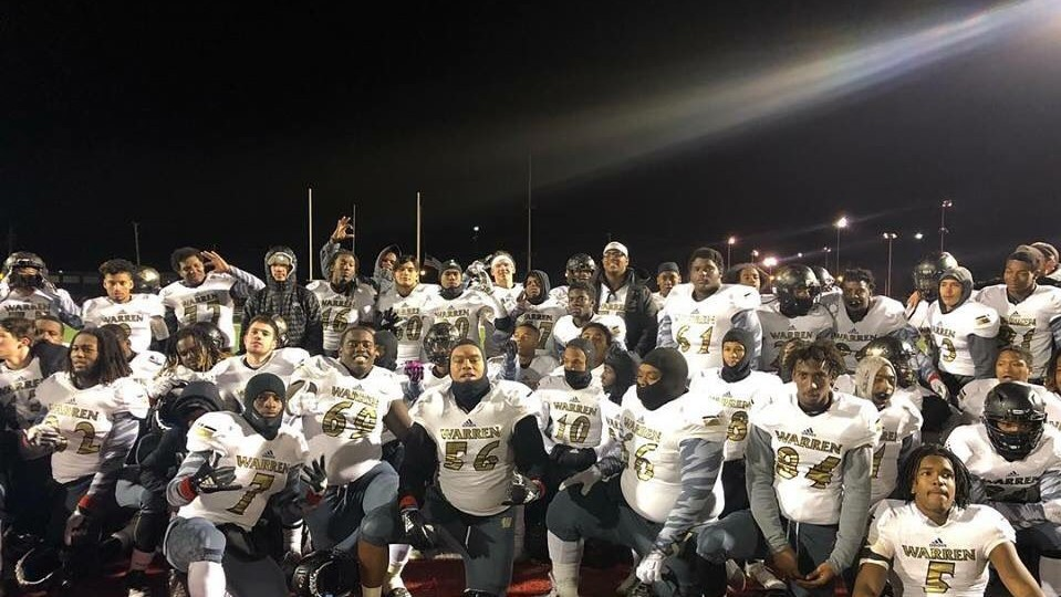 Warren Central Football wins the program's 9th IHSAA Regional Championship by Defeating North Central 42-32!!