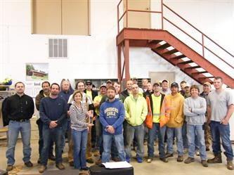 Building Associates Safety Award 2013
