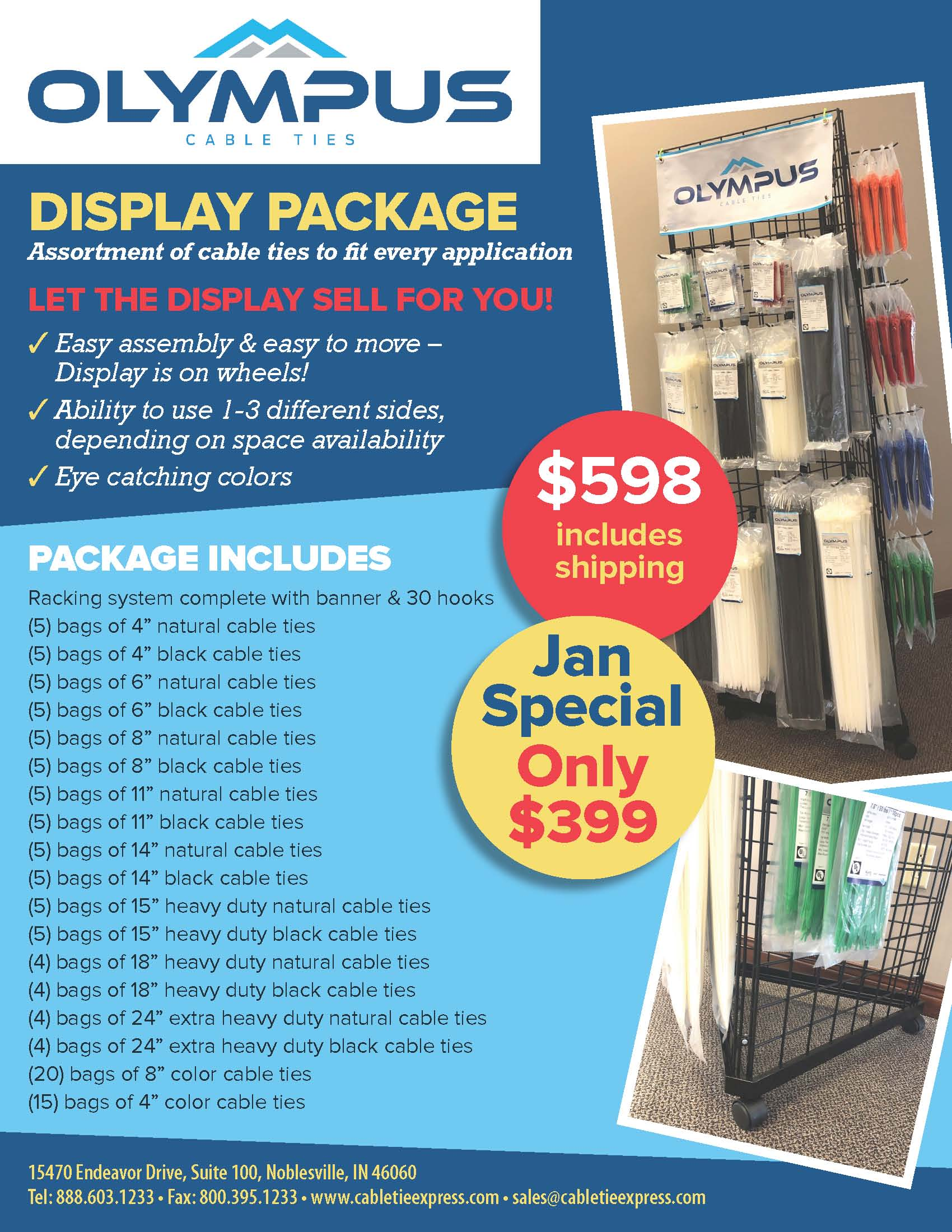 CTE Display Package Flyer