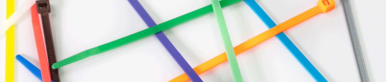 Color Zip Ties by Cable Tie Express