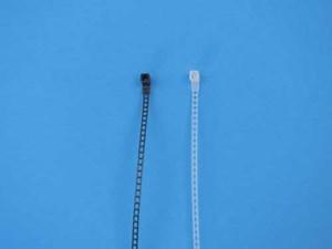 Specialty Zip Ties Black and Natural Ladder Ties
