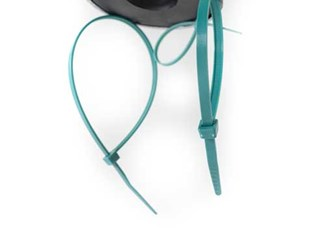 Specialty Zip Ties Three Looped Metal Detectable Cable Tie