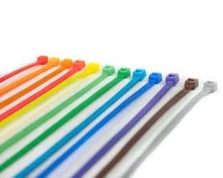 Specialty Zip Ties Multi-Colored Cable Tie