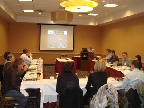 Mid-West Fastener Assoc Seminar with Char Cooper, Founder of Cable Tie Express